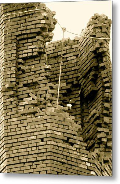 Bricks Metal Print by Azthet Photography