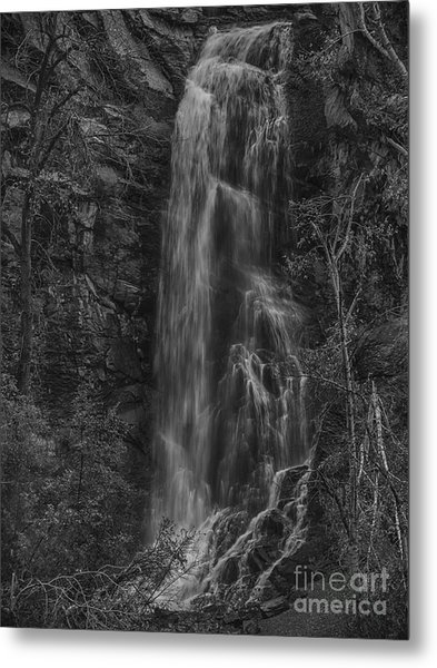Bridal Veil Falls At Spearfish Canyon South Dakota Metal Print