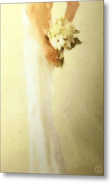 Bride Metal Print by Gun Legler