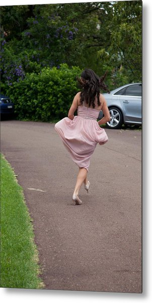 Bridesmaid's Joy Metal Print by Carole Hinding