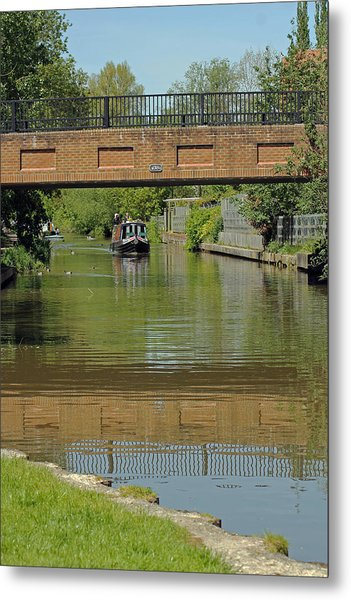 Bridge 238b Oxford Canal Metal Print