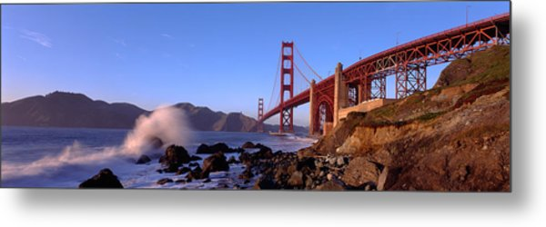 Bridge Across The Bay, San Francisco Metal Print