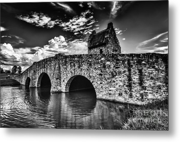 Bridge At Alabama Shakespeare Festival Metal Print