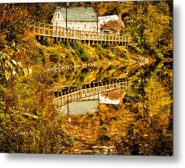 Bridge At C'ville Metal Print