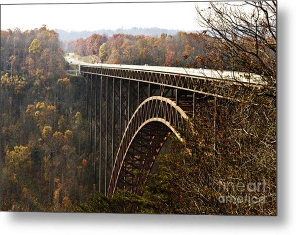 Bridge Metal Print by Blink Images