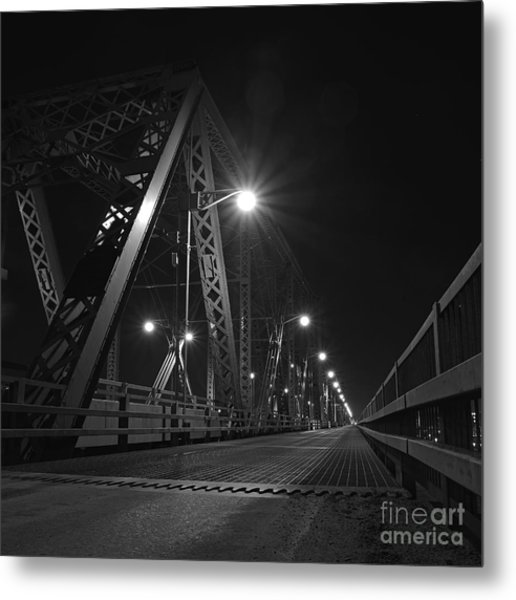 Bridge Night Metal Print