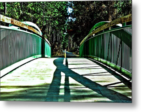 Bridge Of Shadows Metal Print