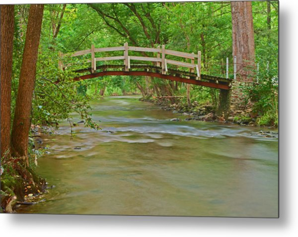 Bridge Over Valley Creek Metal Print