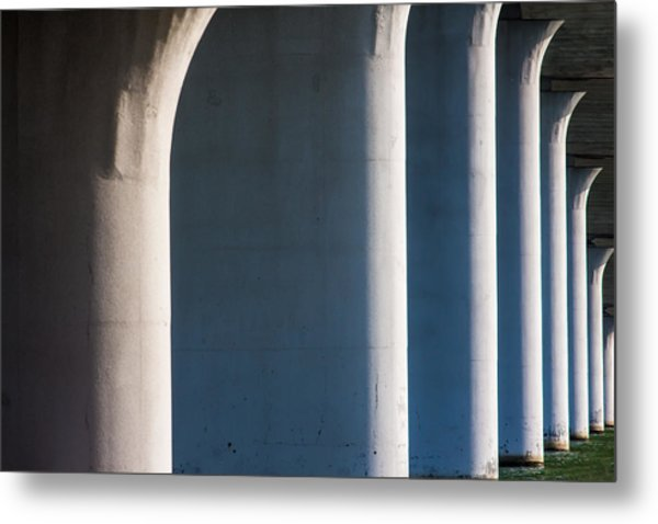 Bridge Patterns 1 Metal Print