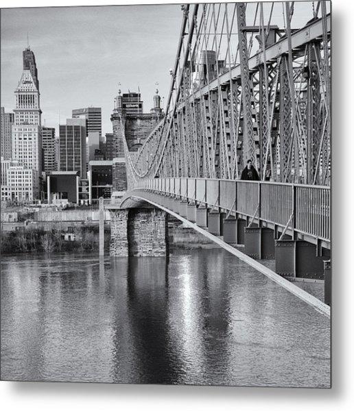 Bridge To Cincinnati Metal Print