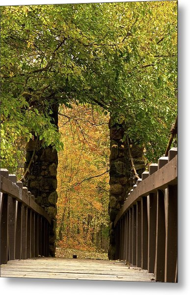 Bridge To Enchantment Metal Print by Kimberly Davidson