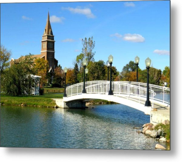 Bridge To Redemption Metal Print by Mary Willrodt