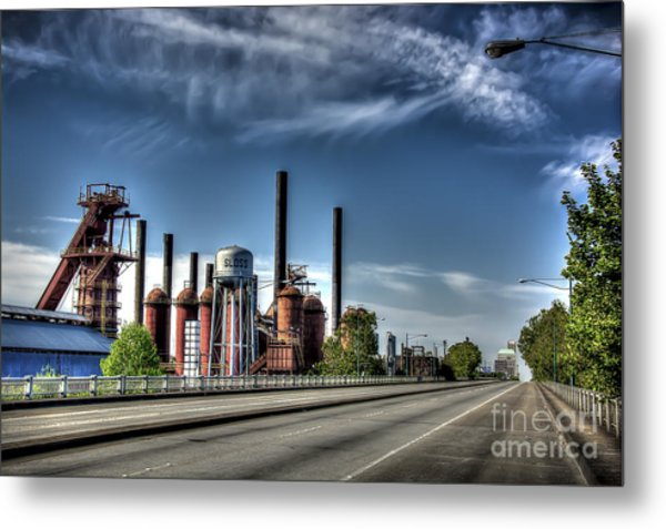 Bridge To The Past Metal Print