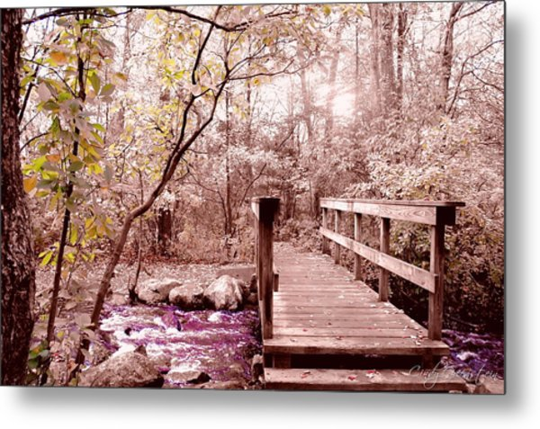 Bridge To Utopia  Metal Print
