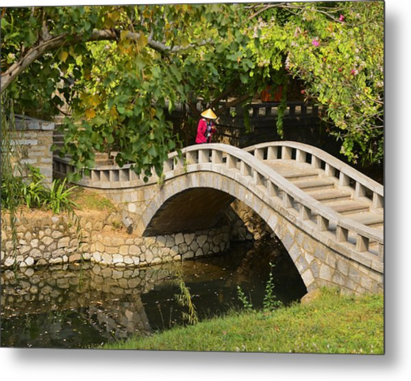 Bridge Walker China Metal Print