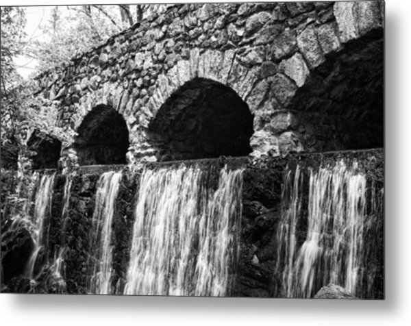 Bridge Water Metal Print by Kenneth Feliciano