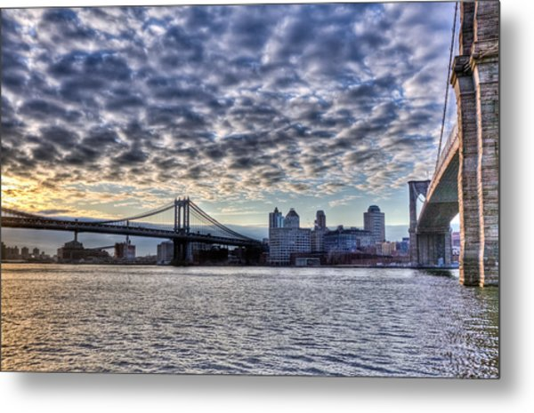 Bridges Of New York Metal Print