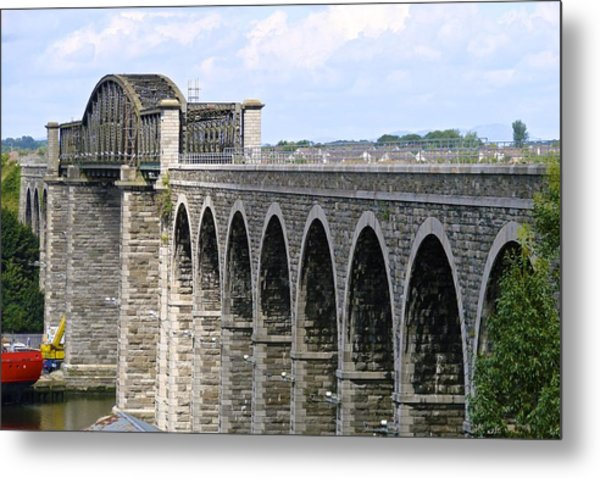 Bridging The Boyne Metal Print