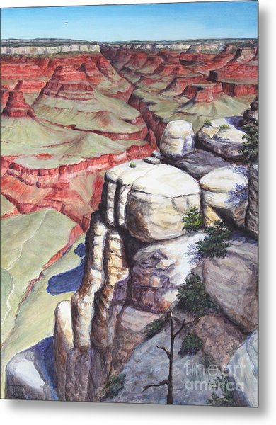 Bright Angel Trail Metal Print