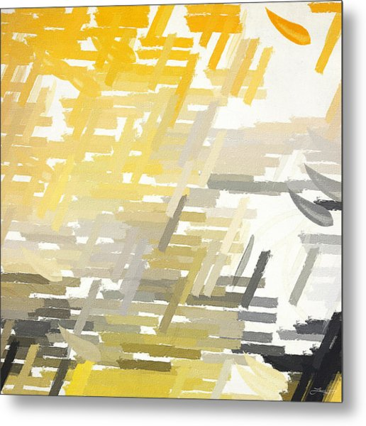 Bright Slashes Metal Print