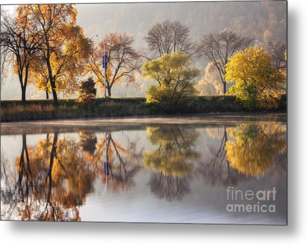 Bright Start To The Day Metal Print