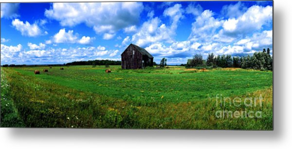 Brimley Farm Near  Sault Ste Marie Michigan  Metal Print