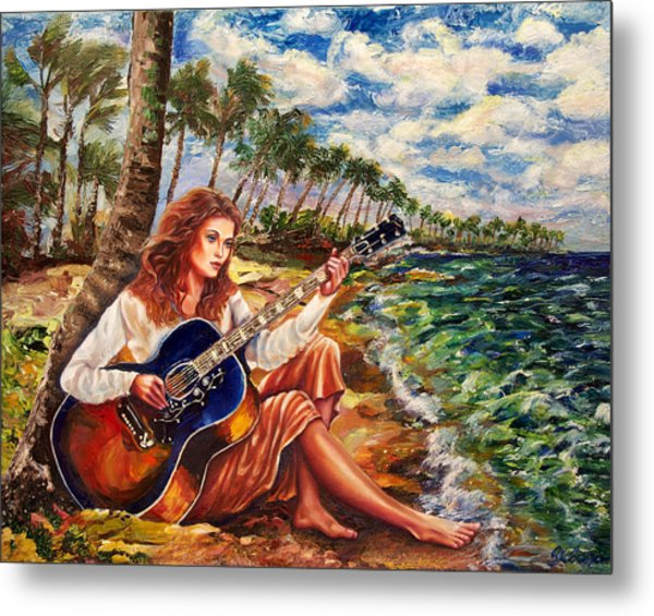 Briny Blues Metal Print