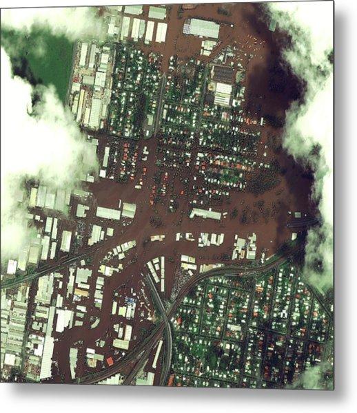 Brisbane Floods Metal Print by Digital Globe