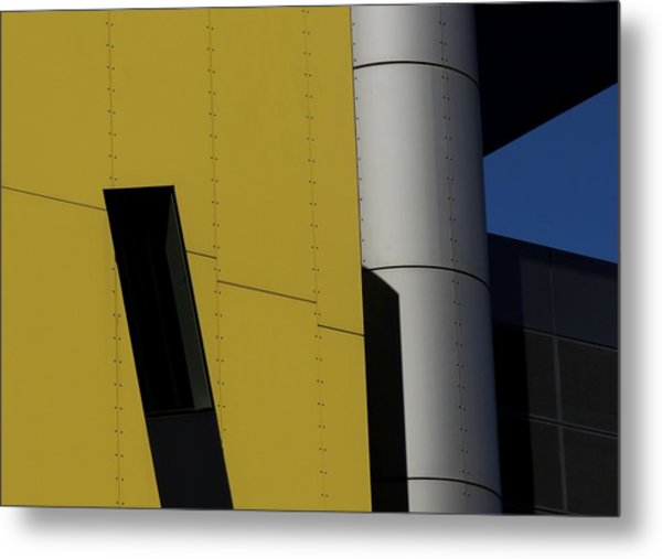 Brisbane Square Abstract 1 Metal Print