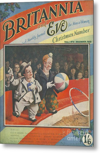 Britannia & Eve 1929 1920s Uk Dwarves Metal Print by The Advertising Archives