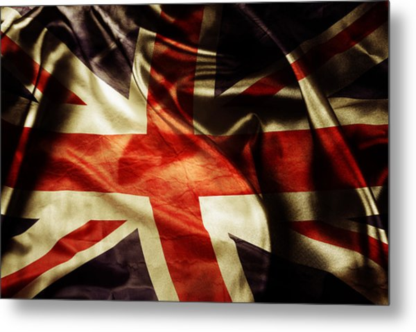 British Flag 1 Metal Print