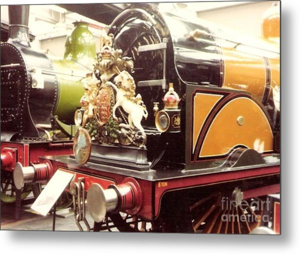 British Royal Engine Metal Print