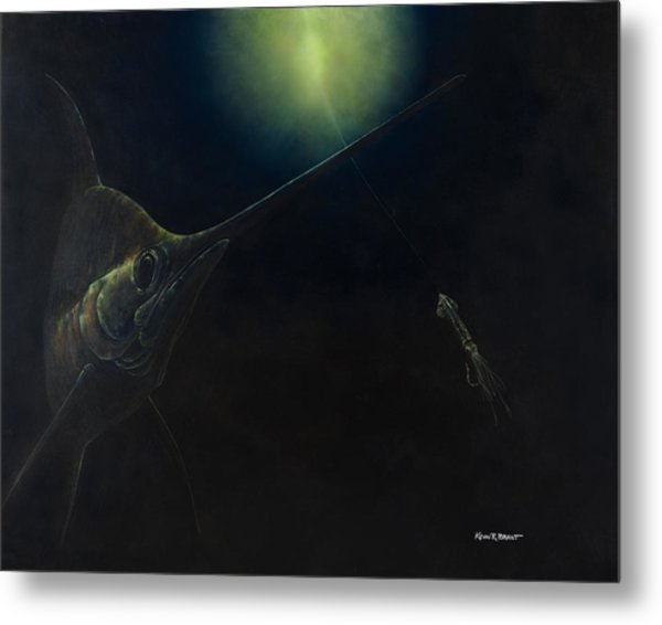 Broadbill Nights Metal Print