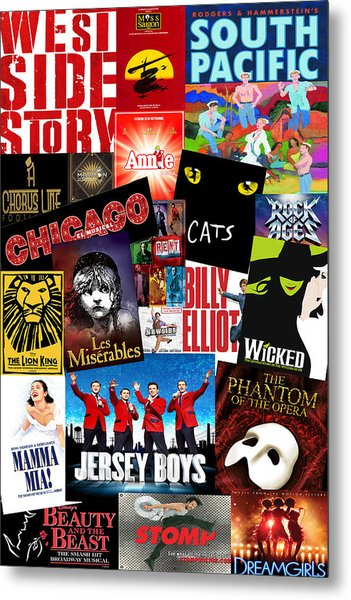Broadway 1 Metal Print
