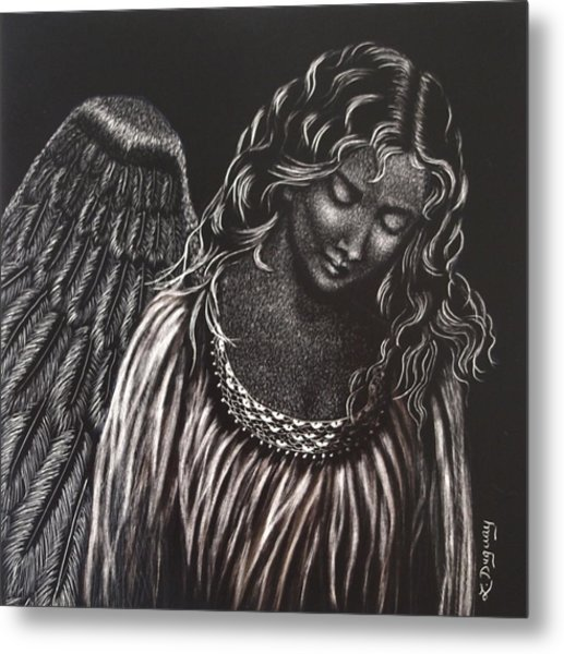 Broken Angel Metal Print