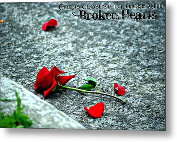 Broken Hearts Metal Print