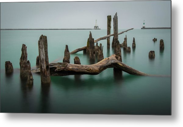 Points Of Port Metal Print