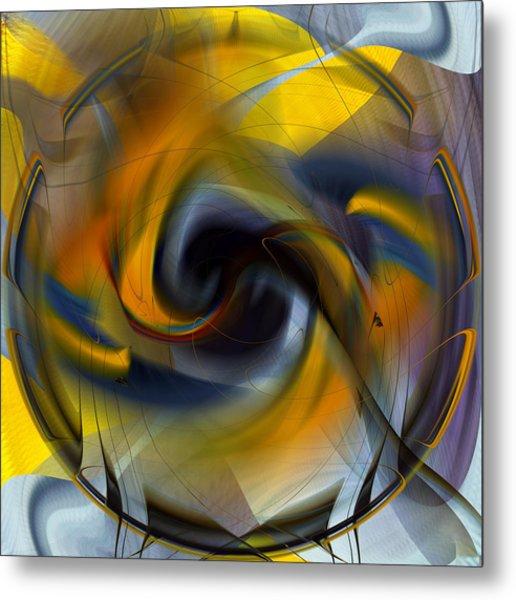 Broken Shield 2 - Abstract Metal Print
