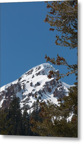 Brokeoff Mtn. In Spring Metal Print