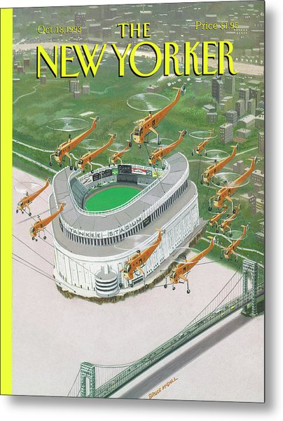 New Yorker October 18th, 1993 Metal Print