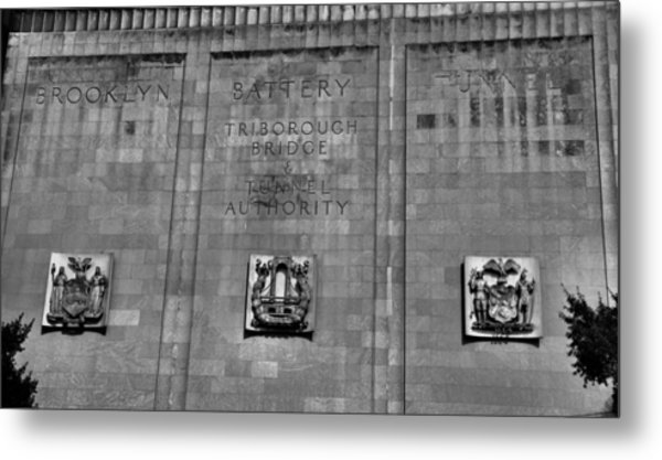 Brooklyn Battery Tunnel Metal Print
