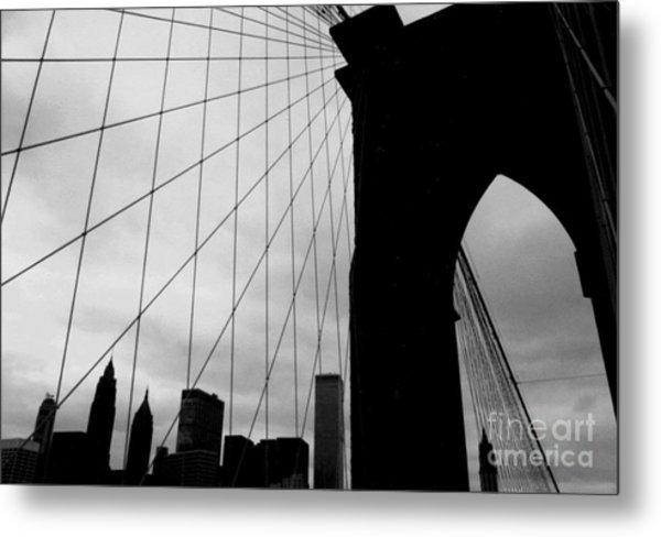 Brooklyn Bridge No.2 Metal Print