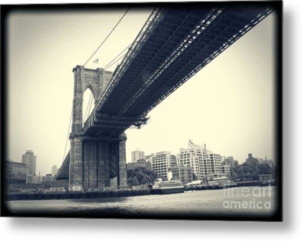 Brooklyn Bridge1 Metal Print