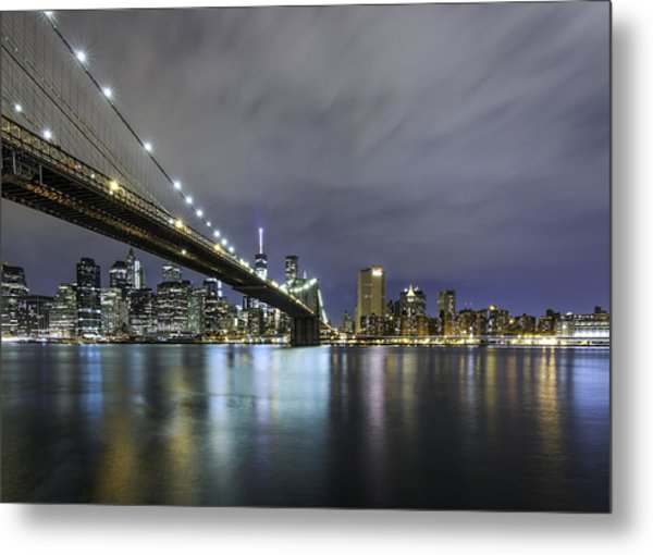 Brooklyn Nights Metal Print