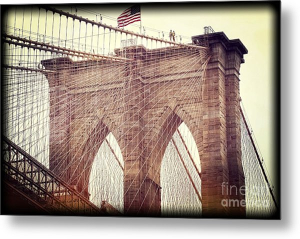 Brooklyn Pride Metal Print