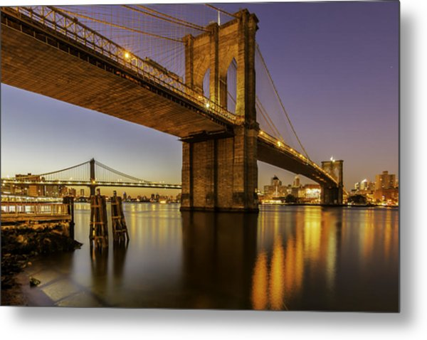 Brooklyn Sunrise Metal Print