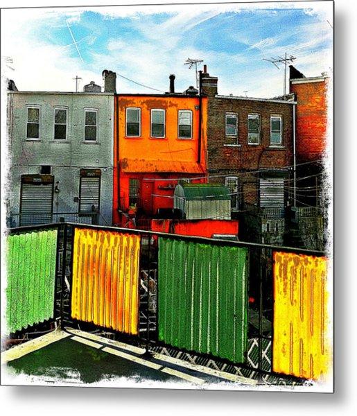 Brooklyn Terrace Metal Print