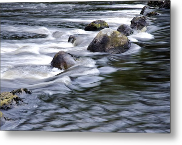 Brora River Scotland Metal Print