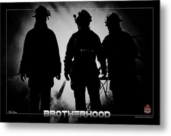 Brotherhood 2 Metal Print by Mitchell Brown