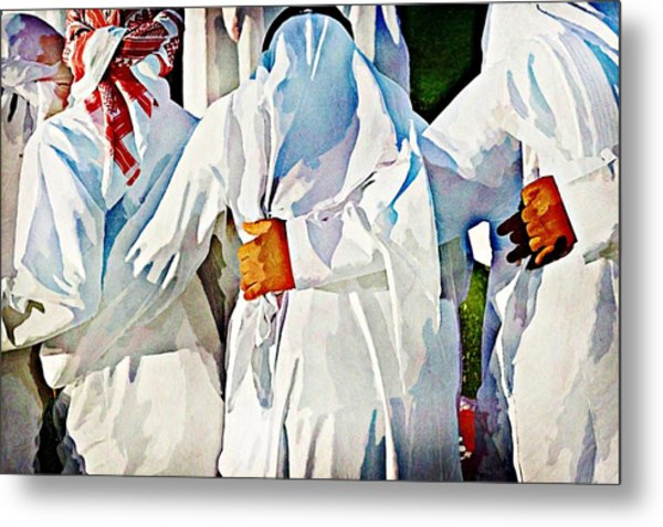 Brothers In Arms Metal Print by Peter Waters